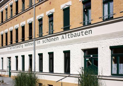 Fassade Berthastraße 3 Leipzig
